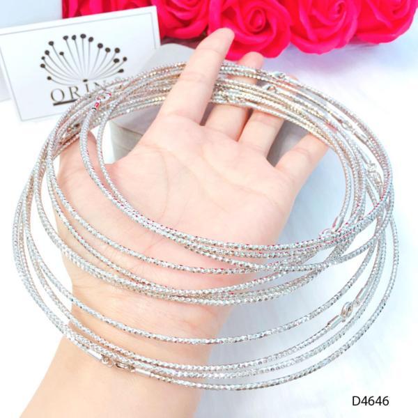 Kiềng bạc, vòng cổ  thiết kế thời thượng Orin D4646