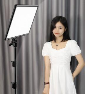 [ SẢN PHẨM MỚI NHÂT ] BỘ ĐÈN LED, Đèn Hỗ Trợ Live Stream, Studio Và Chụp Ảnh, Quay Phim Chuyên Nghiệp PHOTOGRAPHY LIGHT A111 Chính Hãng, Quay Phim 3 Chế Độ Sáng (3600K - 6000K)- Công Suất 100W- Có Remote, (360 Bóng) 14inch, Chân Đèn 2m1 thumbnail