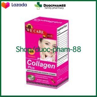 Hộp 60 viên HSD 2023 - Viên uống đẹp da Collagen 123 giảm thâm nám tàn nhang, ngừa nếp nhăn, chống lão hóa trẻ hóa làn da trắng da , chống lão hóa - giúp giảm nám da - chuẩn GMP thumbnail