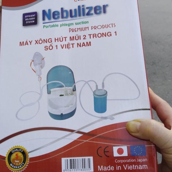 máy xông hút mũi hibaby nhập khẩu