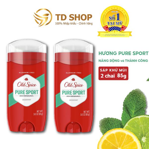 Combo 2 chai Lăn Sáp Khử Mùi Old Spice HighEndurane Pure Sport I Fresh I Original 85g - TD Shop giá rẻ
