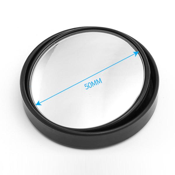 Gương Cầu Lồi Ô Tô Xoay 360 Độ ( Bộ 2 Gương ) -  Xóa Điểm Mù, Tăng Tầm Nhìn