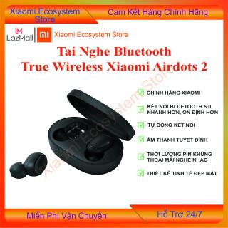 Tai nghe nhét tai Bluetooth True Wireless Xiaomi Redmi Airdots gen 2, sản phẩm được hỗ trợ bảo hành 3 tháng tại shop thumbnail