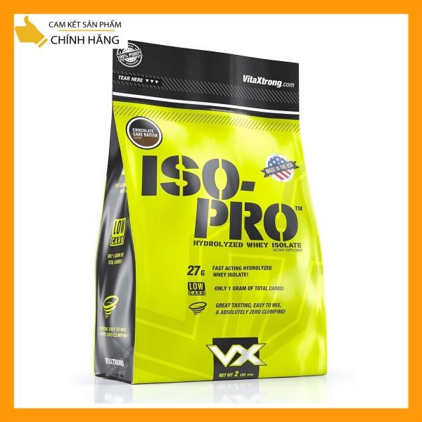 [ tặng bình lắc ] WHEY PROTEIN - VITAXTRONG - ISO PRO - 2lbs - Bổ sung protein tăng cơ giảm mỡ - Từ Mỹ
