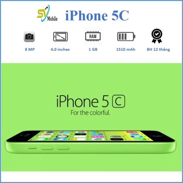 Điện Thoại iPhone 5C LOCK 8-16-32-64GB. Bảo Hành 6 Tháng. Đổi Mới 7 Ngày.