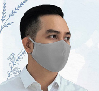 Combo 2 khẩu trang vải cotton ngăn bụi, độc nhẹ, ngăn ngừa virus giúp phòng dịch bệnh thumbnail