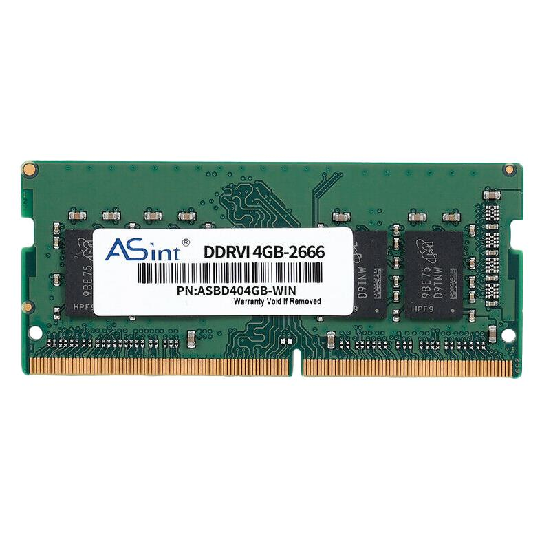 Giá ASint DDR4 4GB 2666MHz Laptop Memory 240Pin Low Power Consumption Notebook RAM Dimm