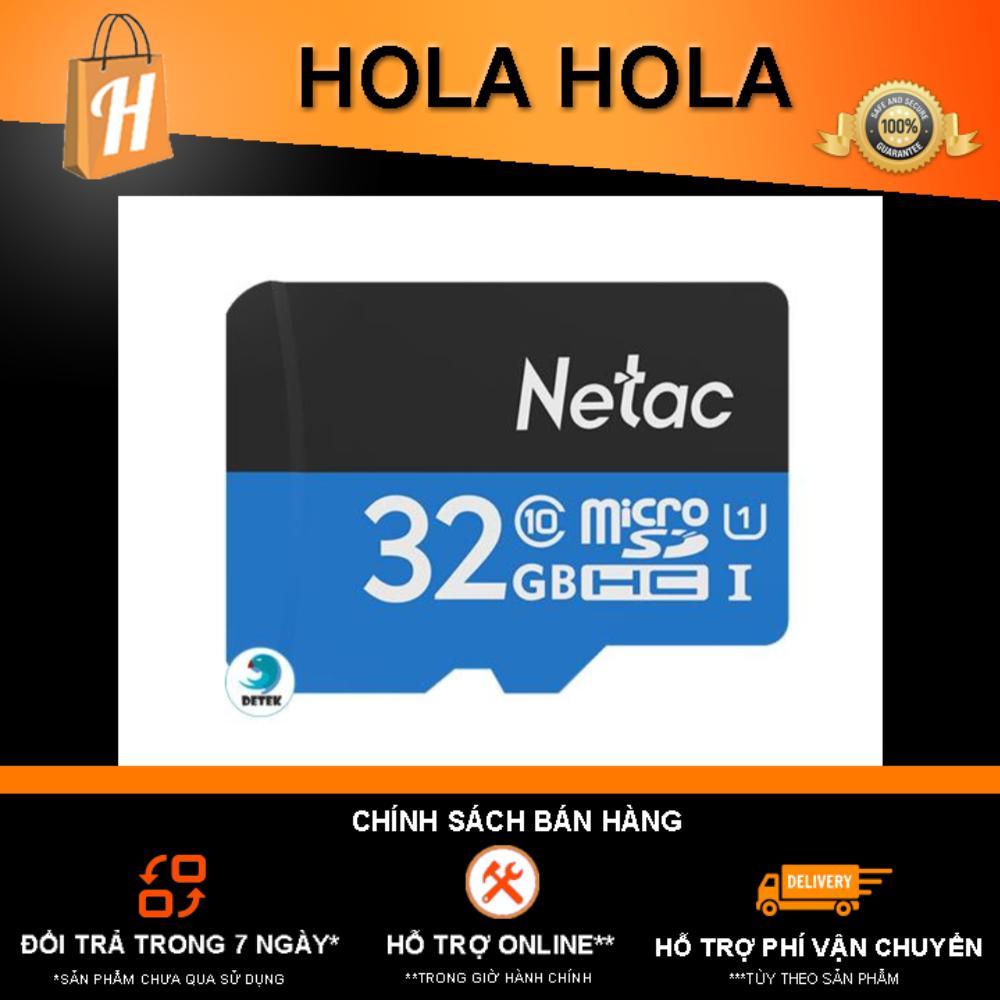 Thẻ Nhớ Netac 32gb Class 10 Chuyên Camera By Holahola (tp.hcm).