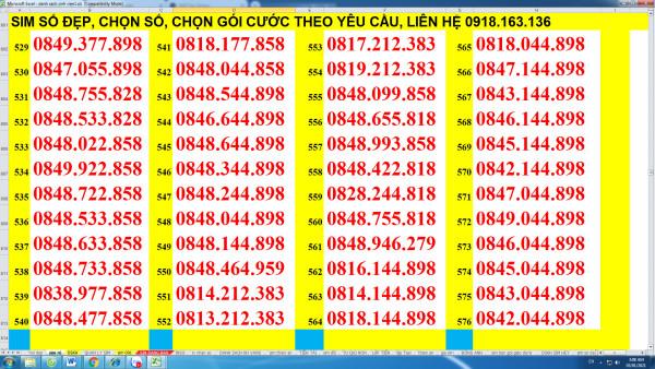 Sim VD149 12T cả năm lên mạng và gọi ngoại mạng, nội mạng không phải nạp tiền