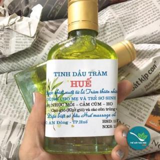 Tinh Dầu Tràm 100ML - TM106 điều trị mụn và da nhờn làm sạch cơ thể và giữ ấm ngừa cảm lạnh và ngăn muỗi đốt thumbnail