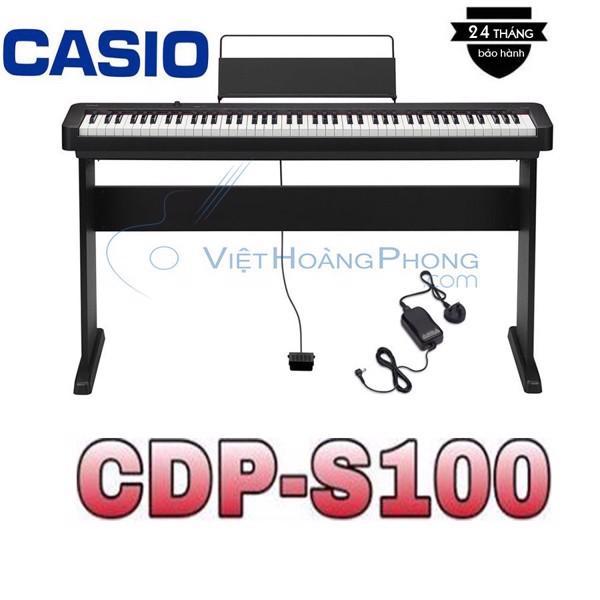 Đàn Piano Điện Casio CDP-S100 Kèm Giá nhạc + Chân đàn - HappyLive Shop