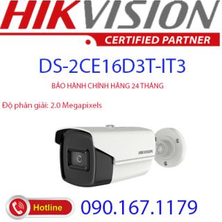 [HCM]Camera hồng ngoại 2.0 Megapixel HIKVISION DS-2CE16D3T-IT3 thumbnail
