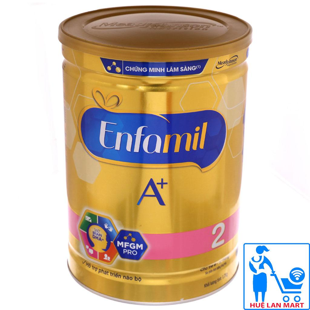 [CHÍNH HÃNG] Sữa Bột Mead Johnson Enfamil A+ Số 2 DHA+ và MFGM Pro Hộp 1,7kg (Cho bé 6-12 tháng tuổi)