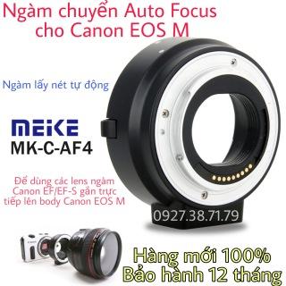 Ngàm chuyển Auto Focus Meike EF-EOS M Cho Canon EOS M (MK-C-AF4) M1 M2 M3 M5 M6 M10 M50 M100 M200 M50 M50 Mark ii M6 .. thumbnail