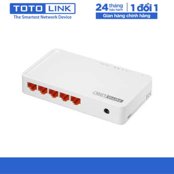 Switch 5 cổng 10/100Mbps – S505 - TOTOLINK