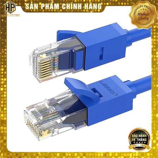 Bảng giá Cáp mạng Cat 6 UTP NW102 Ugreen từ 1 đến 10M chính hãng - Hapustore Phong Vũ
