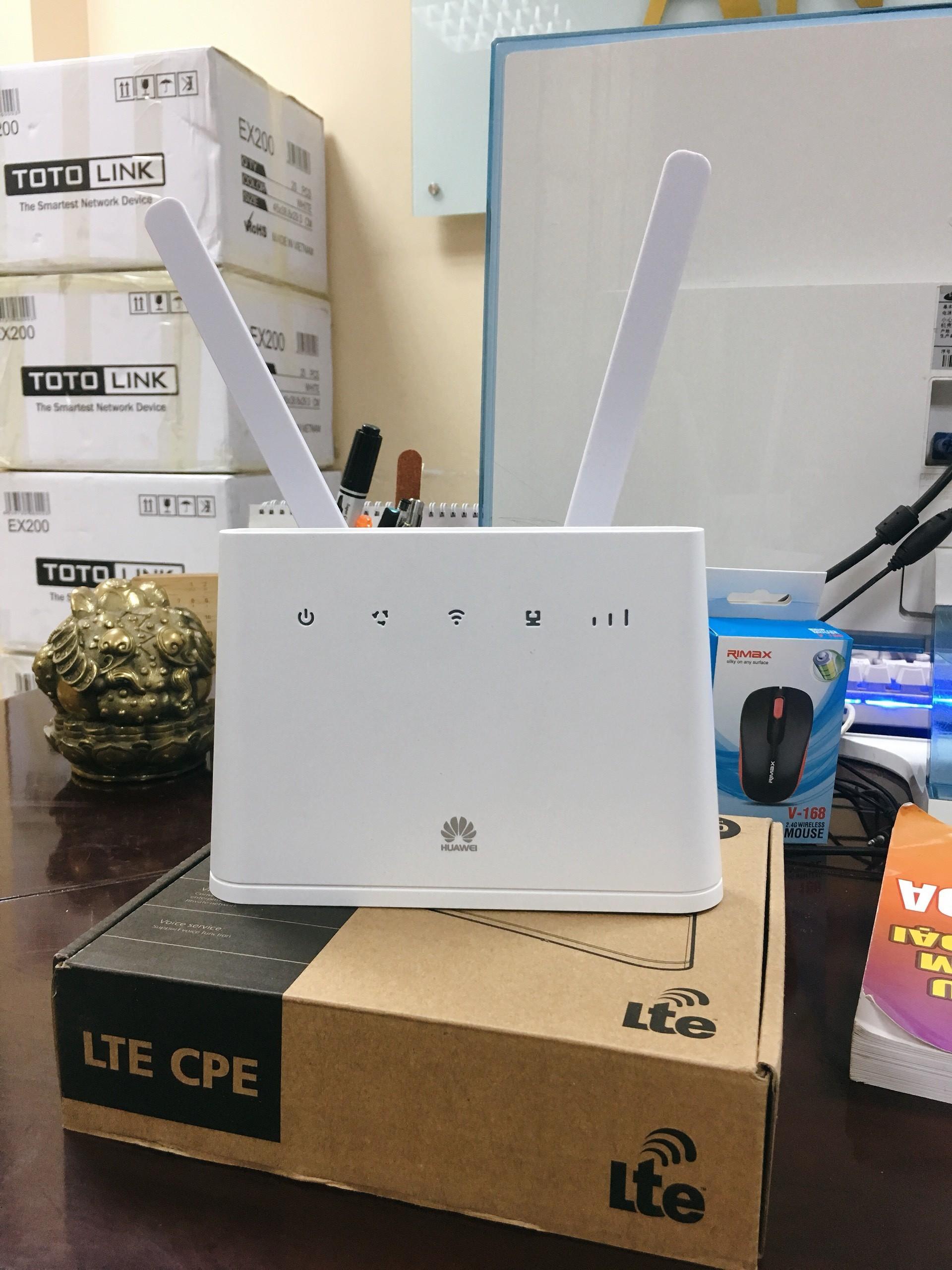 Thiết bị phát Wifi 4G Huawei B310 LTE hỗ trợ lên tới 32 Users