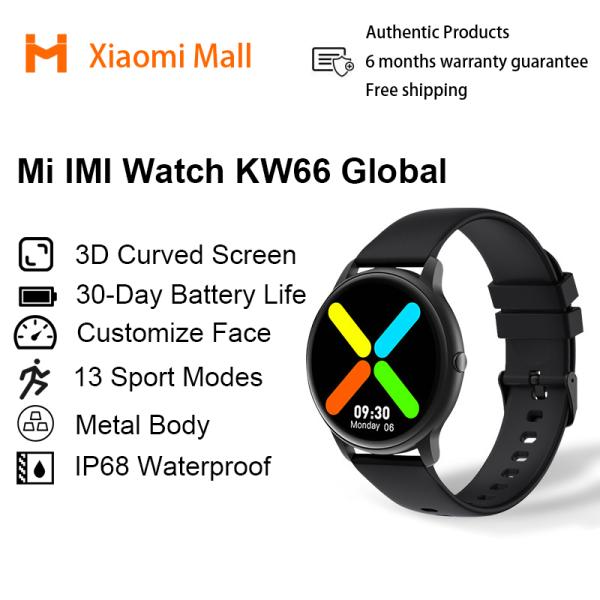 IMILAB KW66 Smart Watch Men Bluetooth Smart Bracelet Heart Rate Sports Fitness Tracker IP68 Waterproof SmartWatch Sports Watch Xiaomi Mall