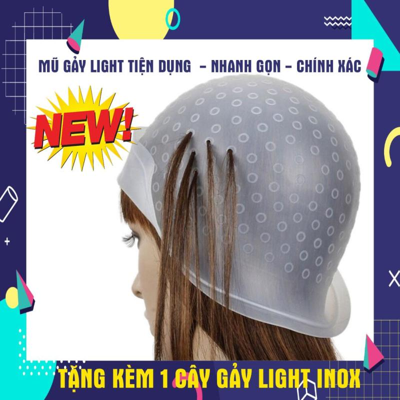 Mũ móc light Silicon tặng que gảy light giá rẻ