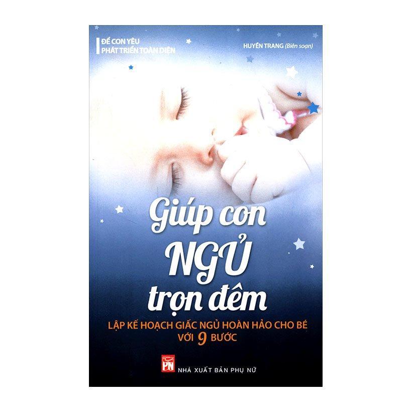 Mua Sách Giúp con ngủ trọn đêm - Biên soạn Huyền Trang