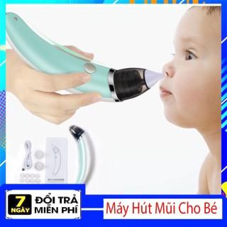 [ Giảm Giá Sốc] Máy hút mũi thông minh cho bé tại nhà,Dụng cụ hút mũi cho bé, Máy hút mũi cho trẻ em, Dụng cụ hút mũi thông minh tại nhà, Máy hút mũi an toàn cho bé. thumbnail