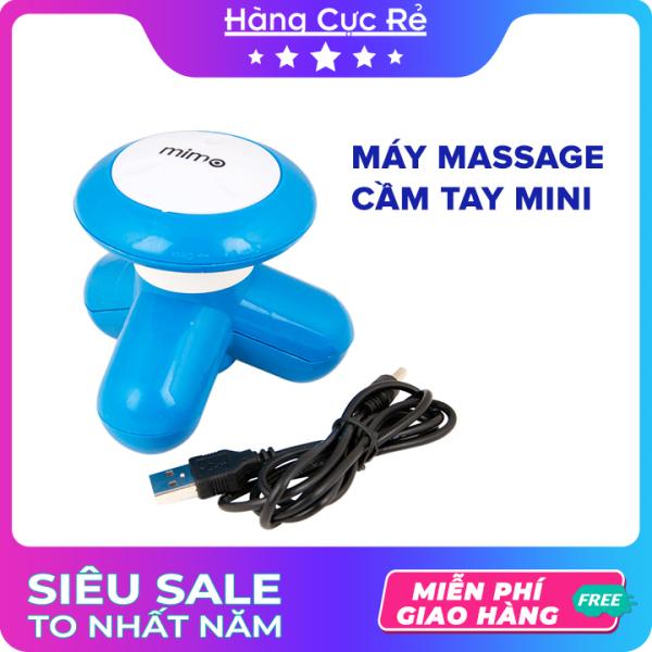 Máy massage mini cầm tay - Máy matxa bấm huyệt thư giản cổ vai gáy - Sử dụng pin tiện dụng - Shop Hàng Cực Rẻ