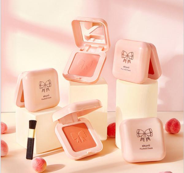 Má Hồng GỐM SỨ SKYVII 5304 blusher nội địa chính hãng sỉ rẻ makeup chuẩn màu mềm mịn lâu trôi tông đáng yêu trẻ trung giá rẻ