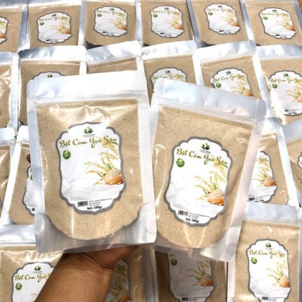 Bột cám gạo sữa nguyên chất làm đẹp dưỡng da,bột cám gạo sữa non mới cập nhật