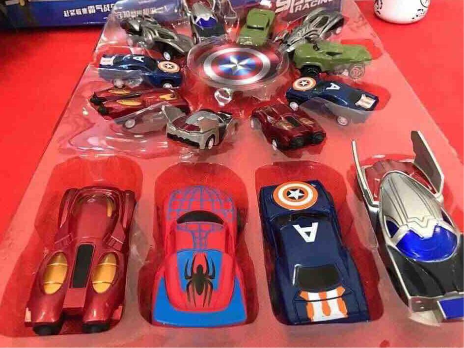 Bộ siêu xe của các siêu anh hùng