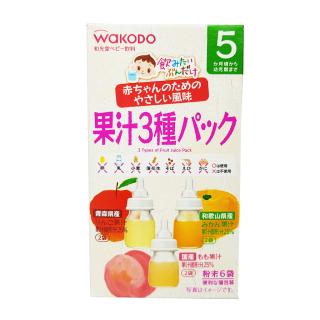 Trà Wakodo vị hoa quả Nhật Bản cho bé 5 Tháng Tuổi, Trà Giải Khát, Trà Hoa Quả Cho Bé, Chống Tưa Lưỡi, Tốt Cho Hệ Tiêu Hóa Của bé thumbnail