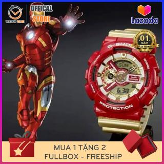 [Siêu Phẩm] Đồng hồ thể thao nam G-Shock Iron Man GA-110 Chống nước 200M - Tặng kèm pin dự phòng - Bảo hành 12 tháng thumbnail