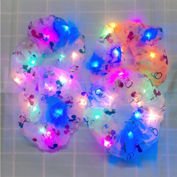 Cột tóc phát sáng đèn led 4 màu
