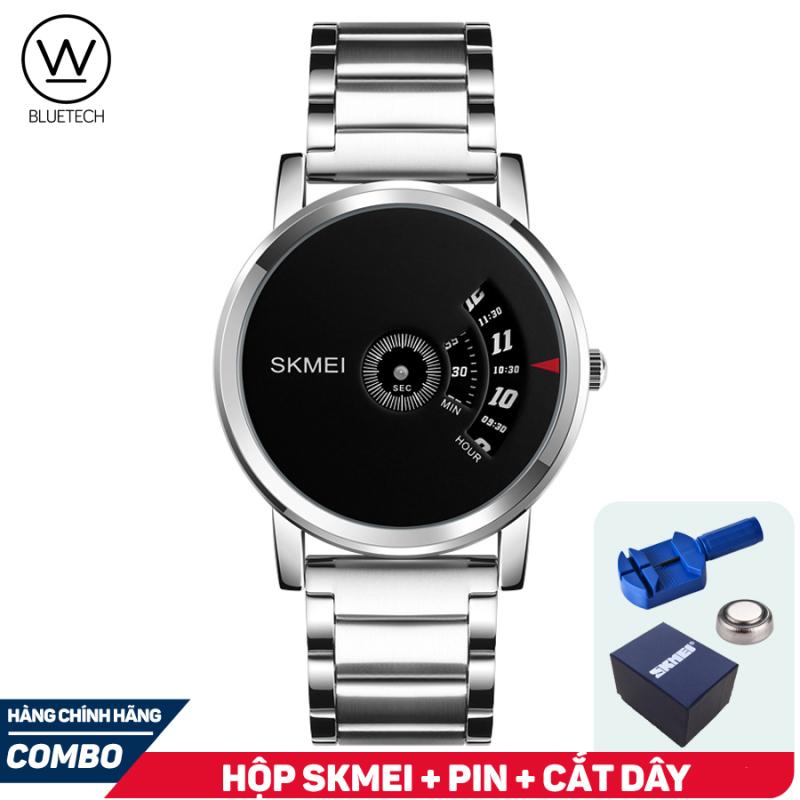 Đồng hồ Unisex SKMEI 1260 Chạy Dọc Dây Thép