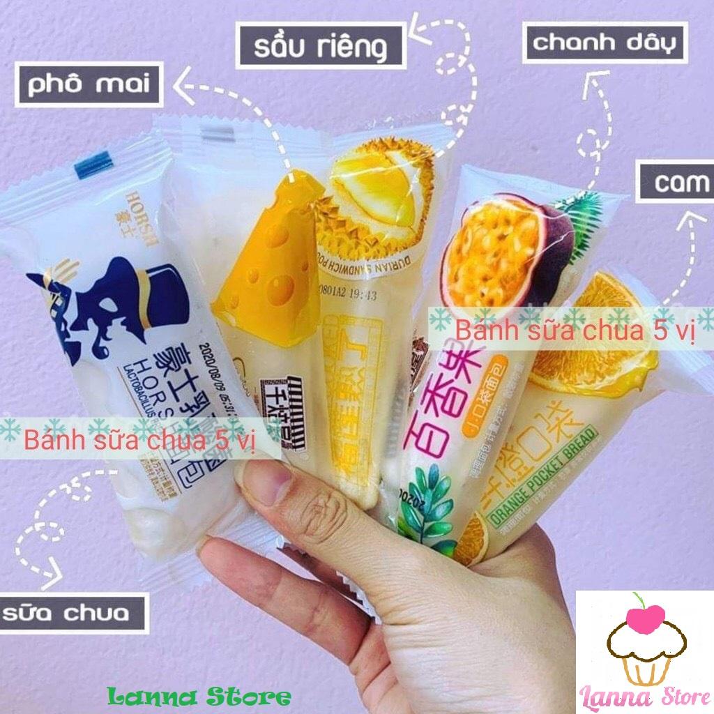 [HCM]Combo 1kg Bánh Sữa Chua Mix Đủ 5 Loại - Đài Loan (khoảng 42 bánh)