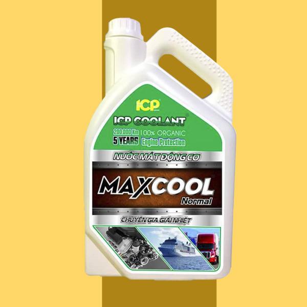 [MIỄN PHÍ SHIP] Nước làm mát động cơ xe ô tô (màu xanh) Maxcool Standard 4L – Nước làm mát động cơ- Phukien133