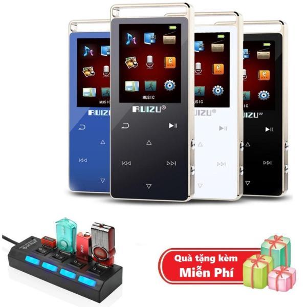 ( Quà tặng Hub chia 4 cổng Usb ) Máy nghe nhạc MP3 RUIZU D01 Bộ nhớ trong 8GB hỗ trợ thẻ nhớ tối đa 128GB
