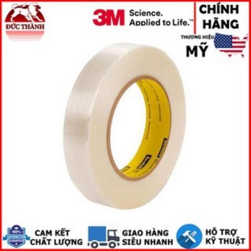 Băng keo gia cường sợi thủy tinh 3M Scotch Filament Tape 897 24mmx55m