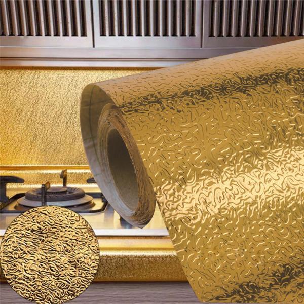 Nước Trái Cây Tủ Miếng Dán Bếp Tường Chống Bẩn Chịu Nhiệt Độ Cao Chống Thấm Nước Miếng Dán Chống Dầu Tự Dính, Giấy Dán Tường Lá Nhôm