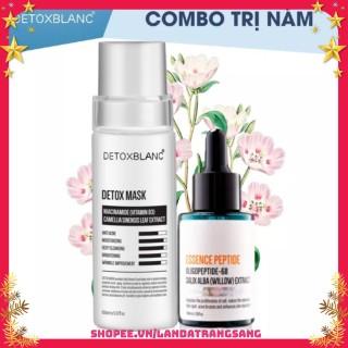 Combo Serum Tri Nám Tàn Nhan Và Mặt Nạ Detox Blanc thumbnail