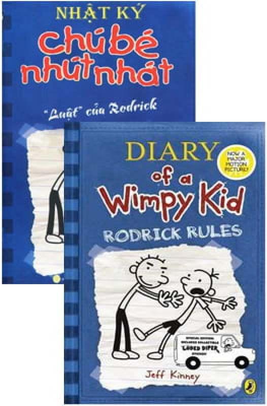 Fahasa - Combo Sách Hay Song Ngữ Diary Of A Wimpy Kid 2 - Luật Của Rodrick