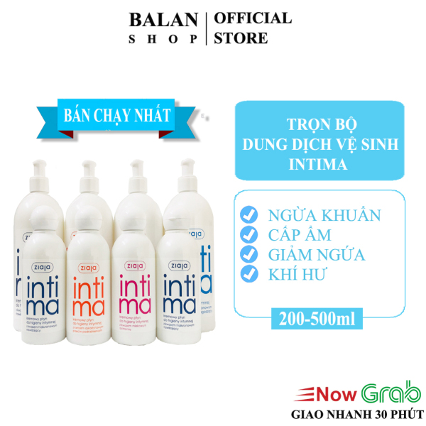 Dung Dịch Vệ Sinh Phụ Nữ Intima Ziaja Bổ Sung Axit Lactobionic, Ascorbic - Date 2023