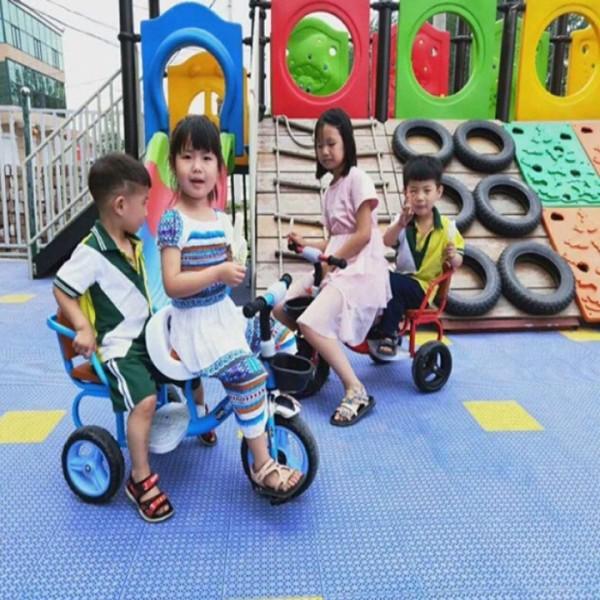 Mua Xe đạp xích lô cỡ  lớn 2 ghế cho bé -từ 1 đến 6 tuổi