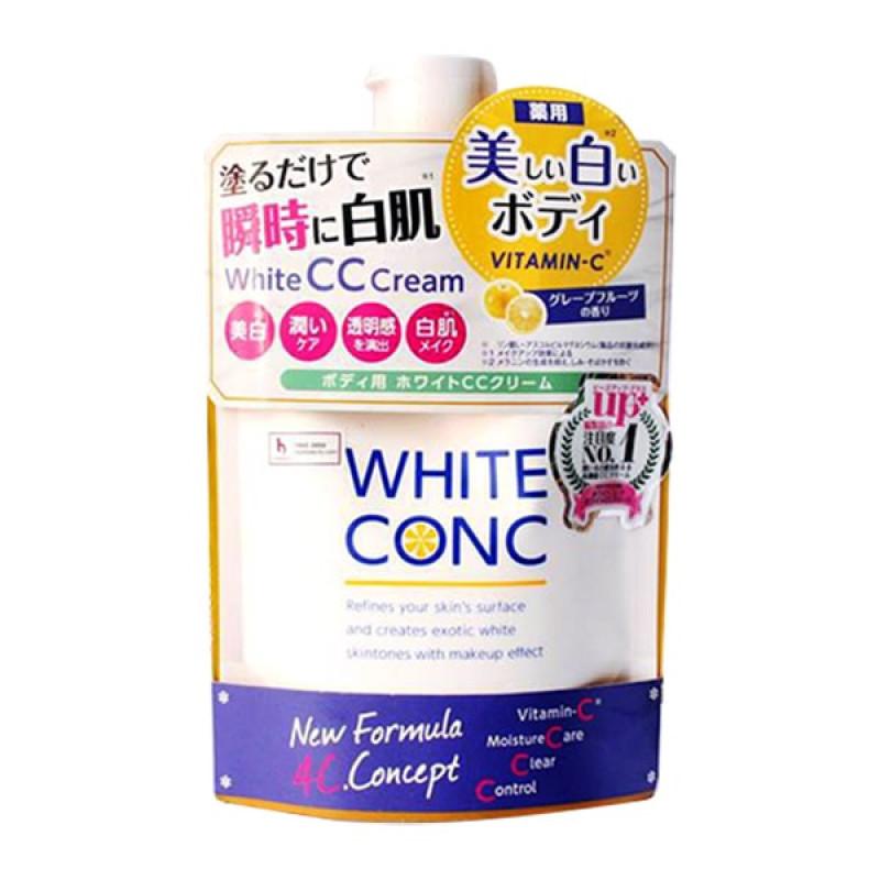 WHITE CONC WHITE  CC CREAM CII KEM DƯỠNG TRẮNG DA BAN NGÀY NHẬT BẢN.