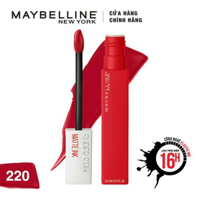 SON LÌ MAYBELINE SUPER STAY MATTE INK MAYBELLINE