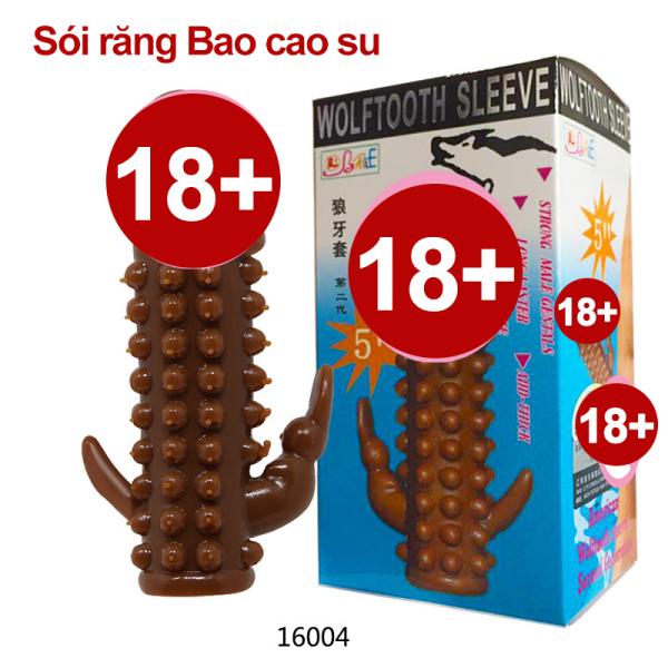 (GIAO HÀNG CHE TÊN) 【Hai hình dạng được vận chuyển ngẫu nhiên】Bao Cao Su Đôn Dên Hong Kong Brave Man - Tăng Kích Thước Hưng Phấn - 1 Cái - Loca shop -