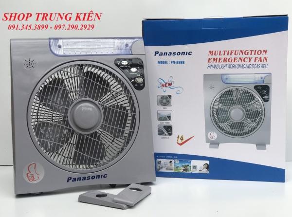 Quạt sạc tích điện PANASONIC 2 bình
