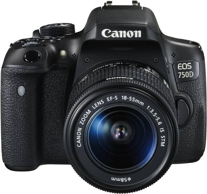 Máy ảnh Canon EOS 750D kit 18-55mm STM - Chính hãng - Tặng thẻ 16Gb + Túi