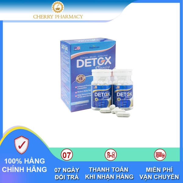 Viên uống Detox Slimming Capsules USA hỗ trợ giảm cân và đào thải mỡ thừa 42 viên cao cấp