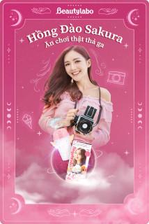 Thuốc nhuộm tóc tạo bọt Beautylabo 125ml Whip Hair Color Nhật Bản - Màu Hồng Sakura thumbnail