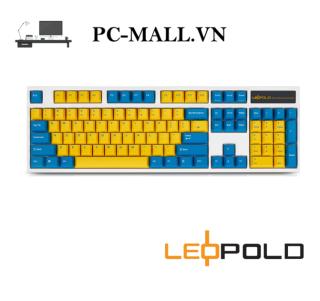Bàn phím cơ Leopold FC900R PD Sweden - White Case - HÀNG CHÍNH HÃNG - PCMALL.VN thumbnail